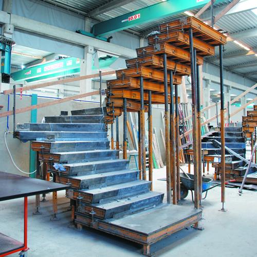 Escaliers balancés